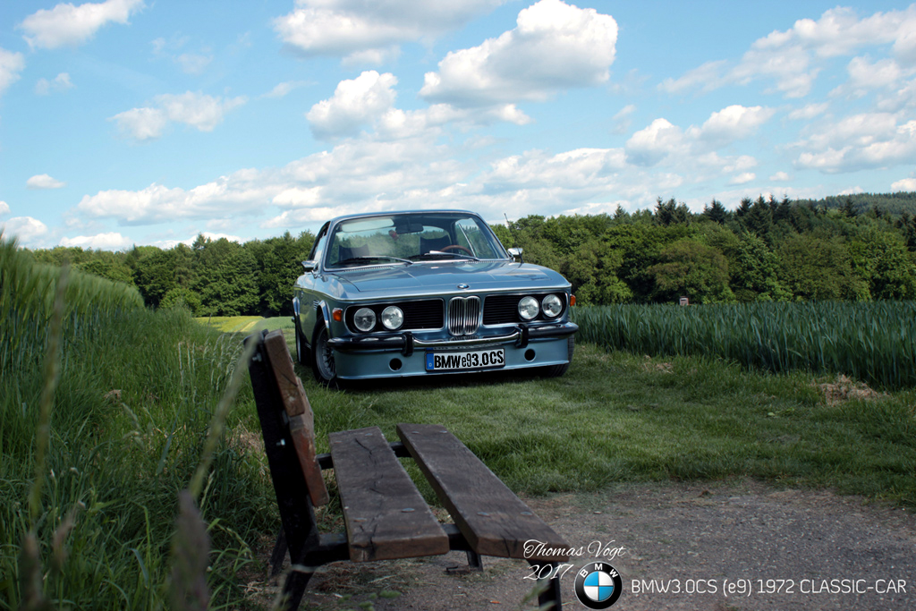 CLASSIC CAR BMW 3.0CS E9 1972 COUPE OLDTIMER THOMAS VOGT