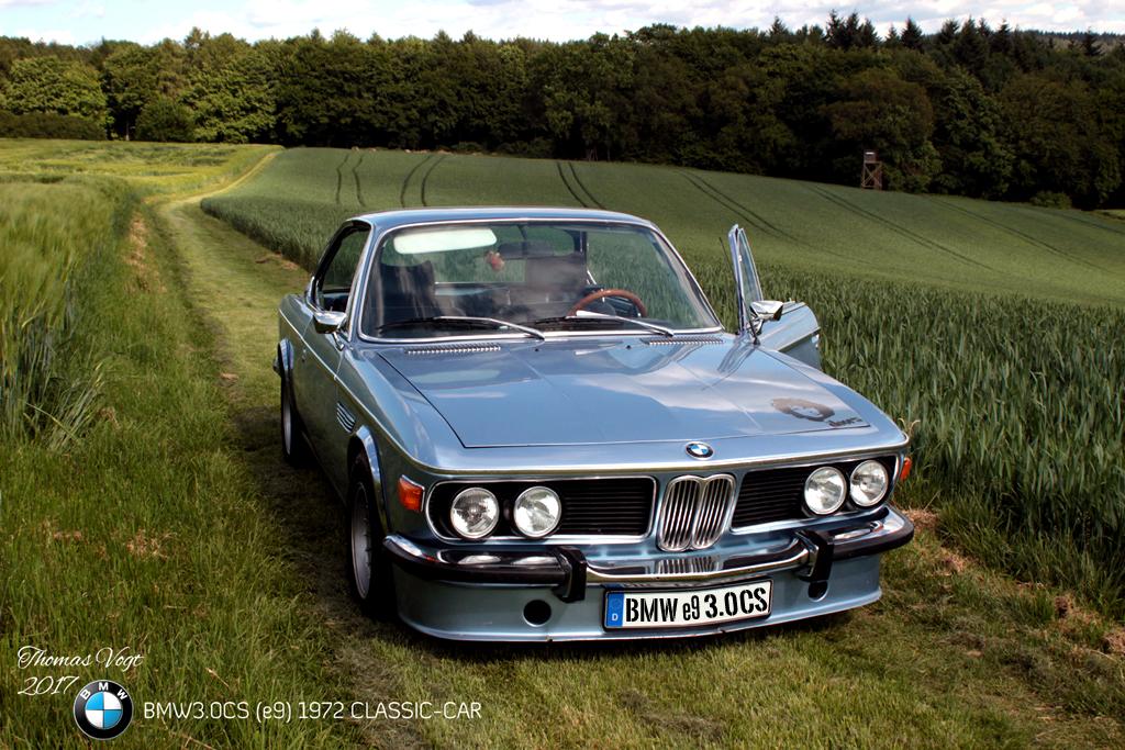 CLASSIC CAR BMW 3.0CS E9 1972 COUPE OLDTIMER THOMAS VOGT