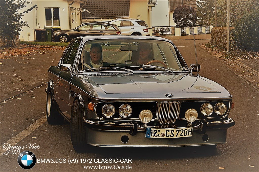 Classic Car Bmw 30cs E9 1972 Coupe Oldtimer Thomas Vogt